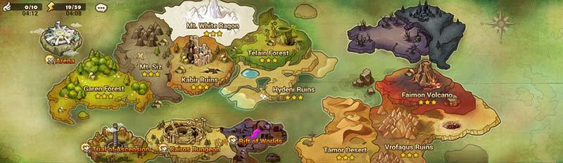 Summoners War Battle Map Guide